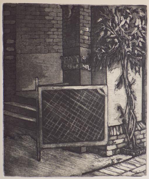 Aquatint Print